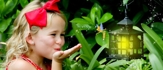 Capture Your Little Pixie at Walt Disney World Resort