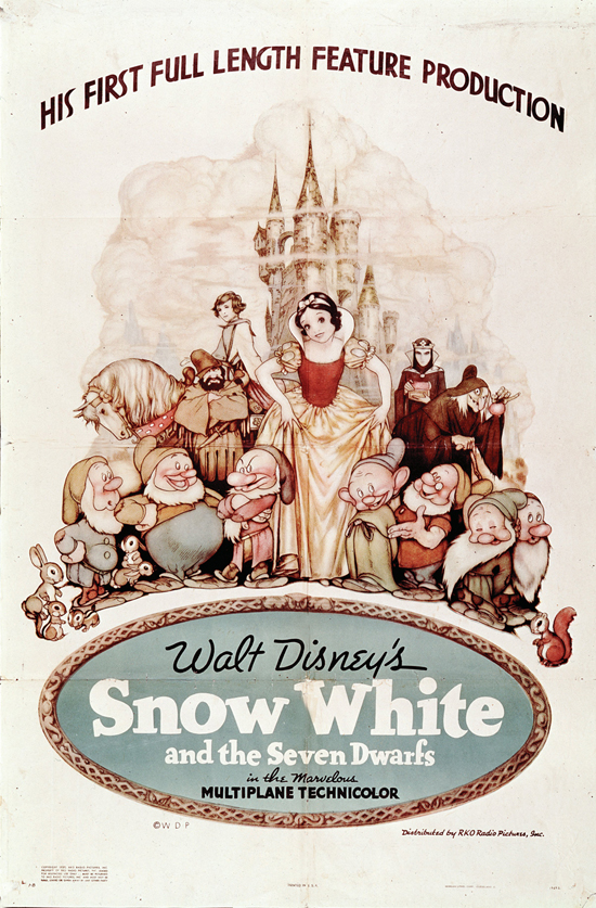 'Snow White and the Seven Dwarfs' Poster