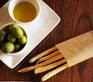 Foccacia, Olives, Olive Oil and Breadsticks Available at Tutto Gusto in the Italy Pavilion at Epcot