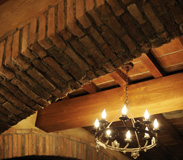 Rustic Brick and Stone Touches in Tutto Gusto in the Italy Pavilion at Epcot