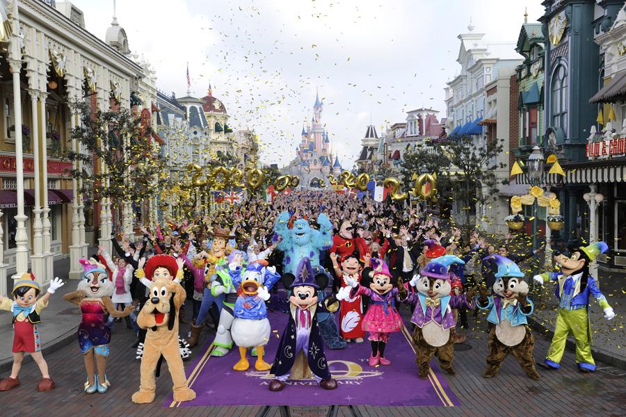 Hotel All Interno Di Disneyland Paris
