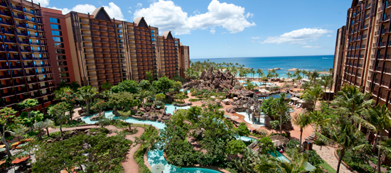 The Waikolohe Valley at Aulani, a Disney Resort and Spa