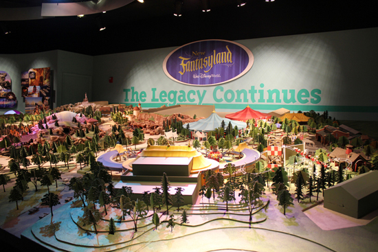 New Fantasyland Model Goes On Display At One Man's Dream May 16