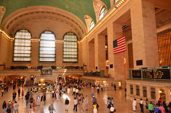 Disney Cruise Line Port Adventures Features Visits to Grand Central Station