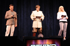 'Star Wars: The Clone Wars' Voice Artists Dee Bradley Baker, James Arnold Taylor and Ashley Eckstein in 'Behind the Force'