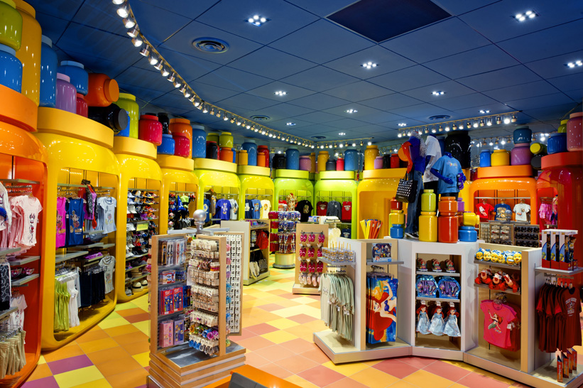 A colorful debut for disney s art of animation resort for Homedepot colorsmartbybehr com paintstore