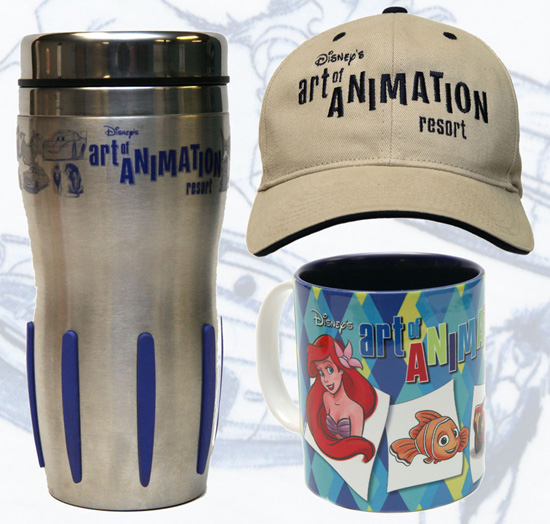 Disney's Art of Animation Resort Merchandise Featuring Drink Hat