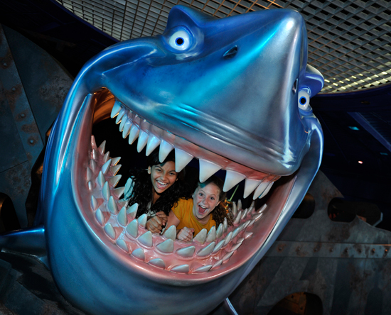 The World of our Oceans on Special Days at The Seas with Nemo & Friends at Epcot