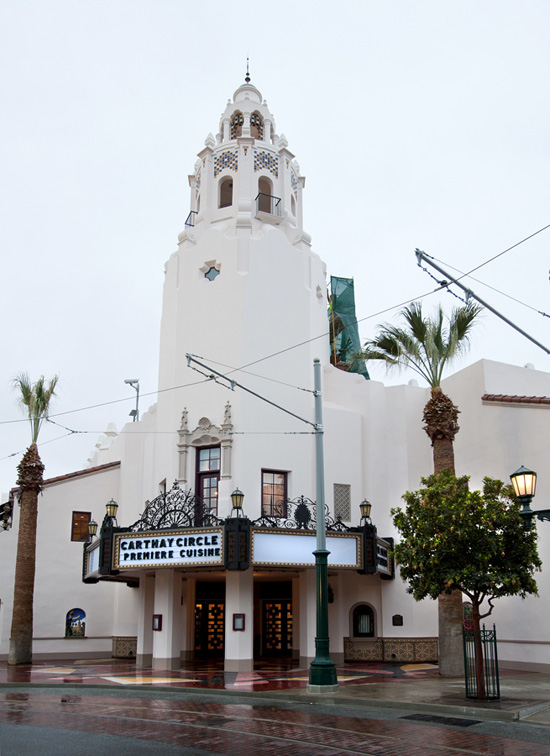 First Look: Carthay Circle Theatre at Disney California Adventure Park