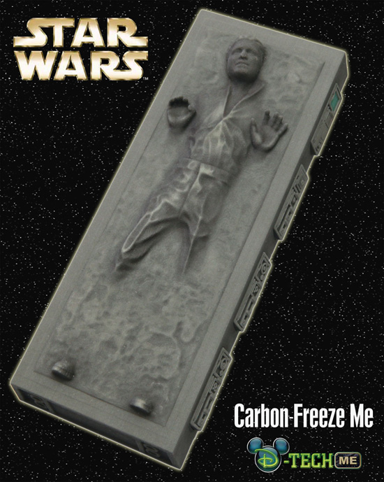 Cast Yourself in Carbonite with the Carbon-Freeze Me Experience During Star Wars Weekends 2012 at Disneys Hollywood Studios