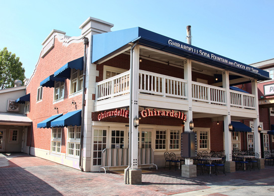 First Look: Ghirardelli Soda Fountain &amp; Chocolate Shop at Disney California Adventure Park