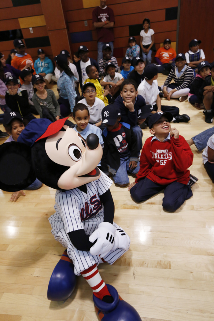 Disney Cruise Line Takes Boys & Girls Club Out to the Ballgame