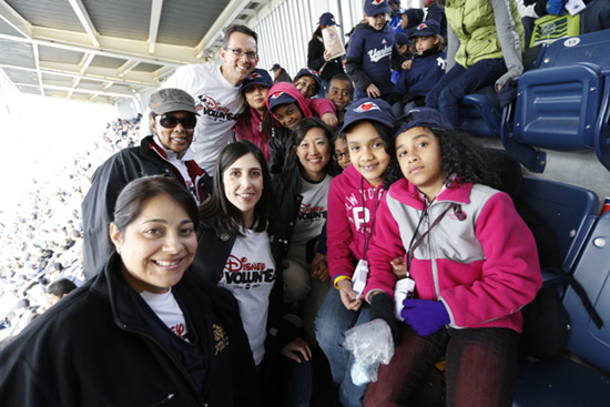 70 Children from the Kips Bay Boys & Girls Club in the Bronx Received Surprise Tickets to See Captain Mickey Mouse at Yankee Stadium