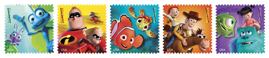 New Disney•Pixar Stamps Celebrated at Disney's Art of Animation Resort
