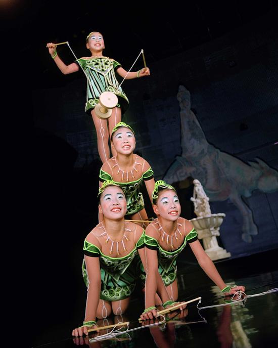 'La Nouba' at Cirque du Soleil at Downtown Disney