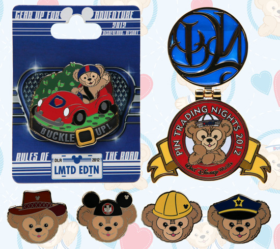 ew Duffy the Disney Bear Pins Coming to Disney Parks
