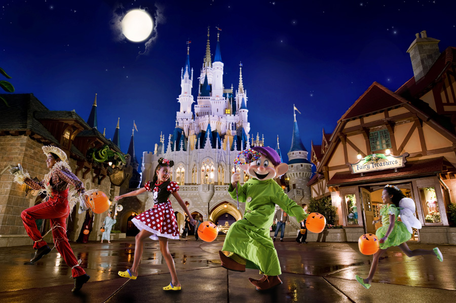 Tickets On Sale for Not-So-Scary, Very Merry Events at Walt Disney World Resort