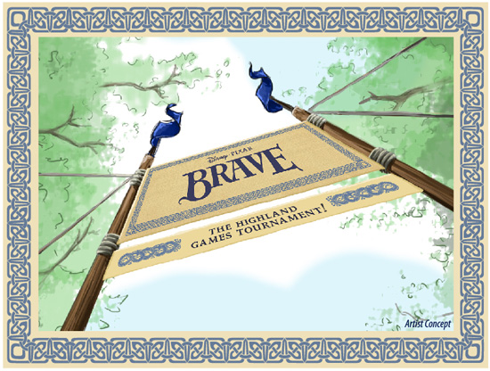 Brave – The Highland Games Tournament Coming to Epcot June 1st   July 8th
