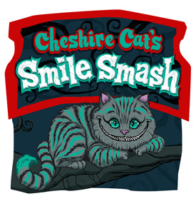 Cheshire Cat Smile Smash is Among the Arcade-style Games Coming to  Mad Arcade at Disney California Adventure Park