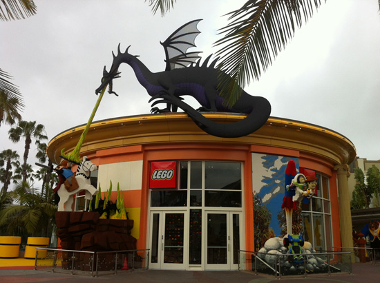 Master Build Event to Celebrate the Grand Reopening of the LEGO Store at the Downtown Disney District at the Disneyland Resort