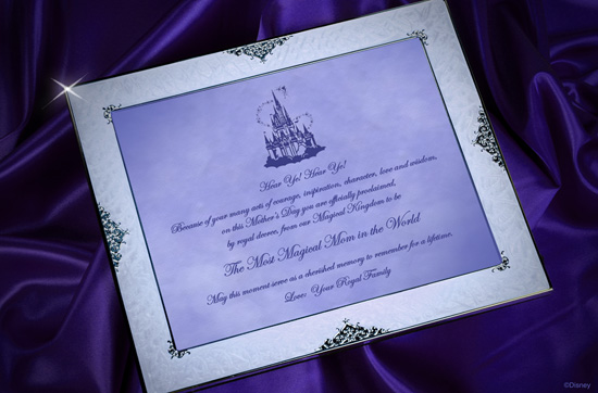 A 'Magical' Proclamation for Moms on Mother's Day from Disney Floral & Gifts