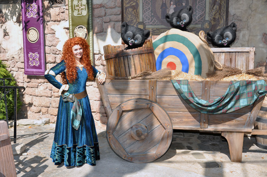 Meet Merida from Disney•Pixar's 'Brave' at Magic Kingdom Park