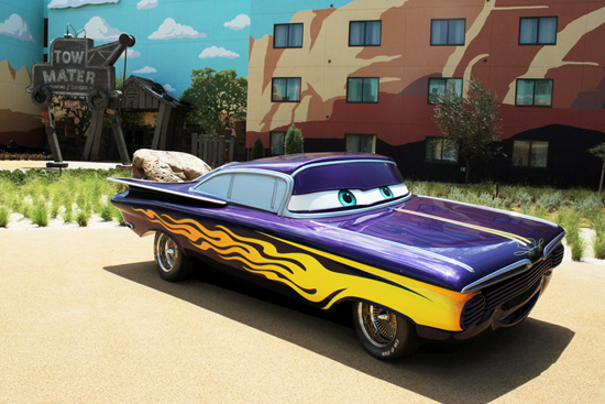 First Look: 'Cars' Wing Takes Shape at Disney's Art of Animation Resort