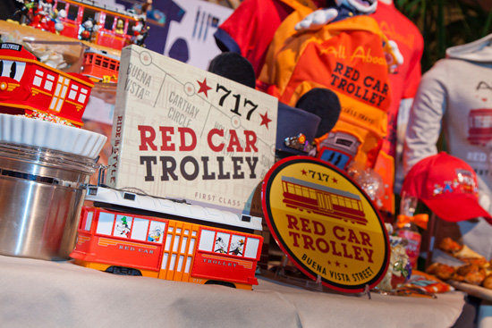 Get on Board with the Red Car Trolley Collection at Disney California Adventure Park