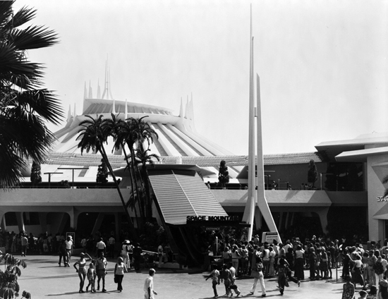 Celebrating 35 Years of Space Mountain at Disneyland Park