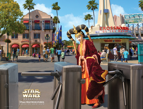 Queen Amidala at Star Wars Weekends at Disney's Hollywood Studios