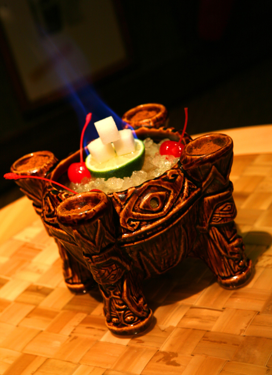 Uh Oa Bowl Available at Trader Sam's – Enchanted Tiki Bar at the ...