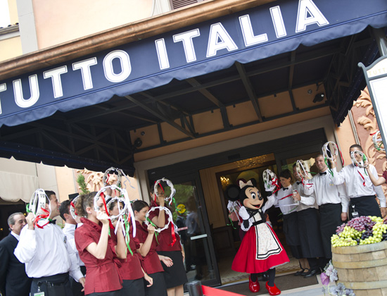 Festivities Begin as Tutto Italia, Tutto Gusto Open at Epcot