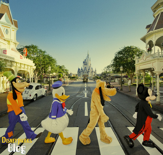 A Golden Anniversary, from Abbey Road to Main Street, U.S.A.: Mickey and the Gang Pay Homage to The Beatles at Walt Disney World Resort