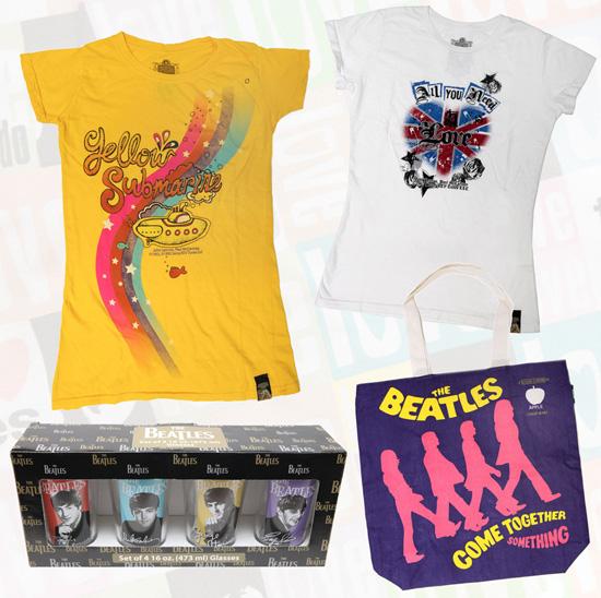 Merchandise Saluting British Bands, Including The Beatles, Invades United Kingdom Pavilion at Epcot at Walt Disney World Resort