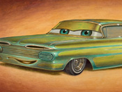 New Cars Land Art 'Roars' to Life in Disney California Adventure Park