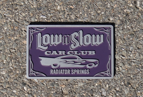 Low n Slow Car Plaque from Dennis O'Brien of O'Brien Truckers