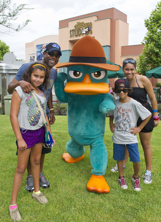 Country Music Artists Visit Walt Disney World Resort to Rev Up at Radiator Springs and Fight Crime with Agent P