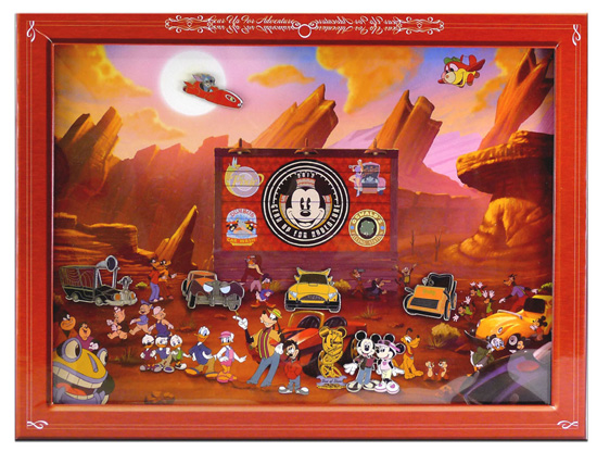 The 'Car Show at Disneyland' Pin Collection