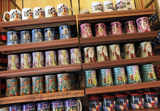 Morning-Themed Coffee Mugs Available at Disney Parks