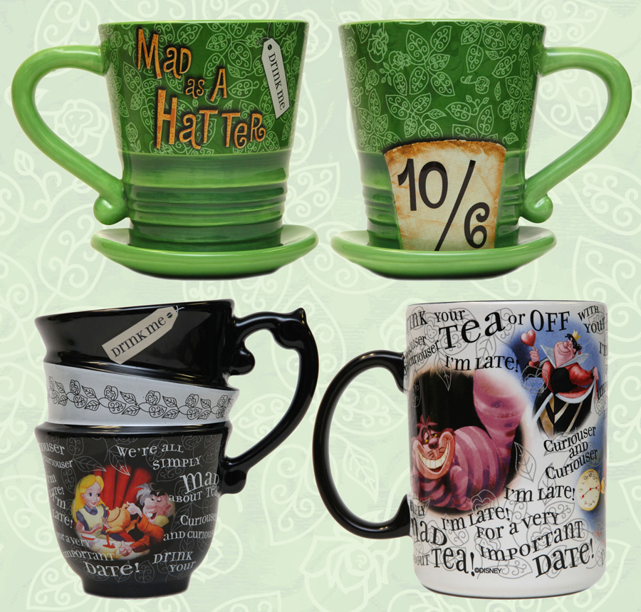 Coffee Mugs Percolate to the Top of Disney Parks Souvenirs