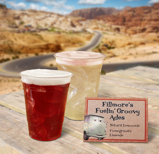 Beyond Sodas: Snazzy New Sips in Cars Land at Disney California Adventure Park