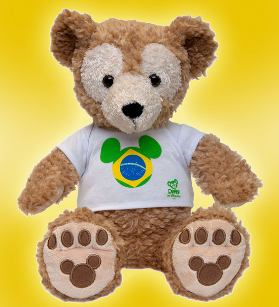 Duffy the Disney Bear Adds International Flavor to His Wardrobe at Disney Parks