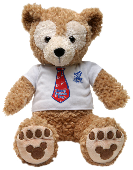 Duffy the Disney Bear Celebrates Father's Day with New Shirt