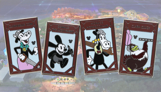 Oswald the Lucky Rabbit Hidden Mickey Pins Coming This Summer to Disney Parks