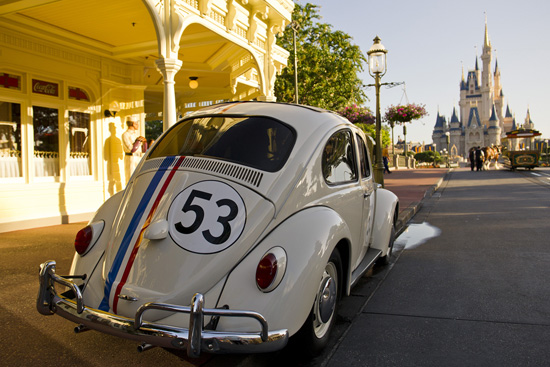 Why Was Herbie Parked in Magic Kingdom Park?