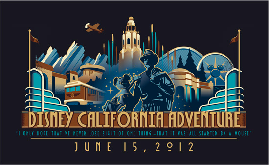 June 15 Special Merchandise Offerings at Disney California Adventure Park