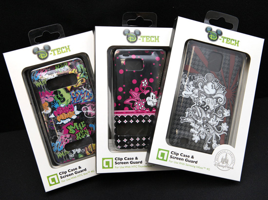 New D-Tech Cases for Android Phones and More Arriving This Summer at Disney Parks