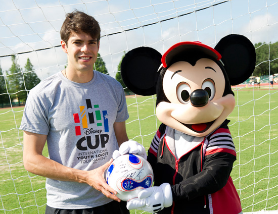 Soccer Star Kak Visits the ESPN Wide World of Sports Complex at Walt Disney World Resort