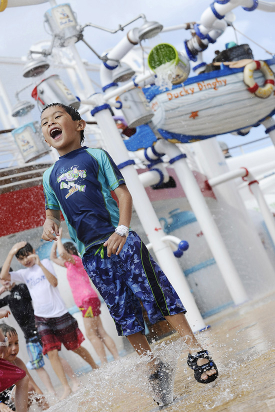 Top Five Ways to Get Soaked on the Disney Fantasy