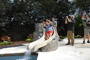 The Castro Family's Yard Gets a Makeover Inspired by The Little Mermaid ~ Ariels Undersea Adventure on 'My Yard Goes Disney'